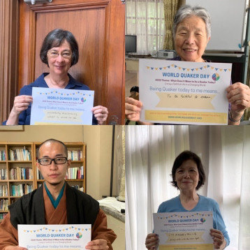 World Quaker Day; Japanese Friends share by Zoom