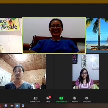 World Quaker Day ; Zoom meet-up; Philippino Friends