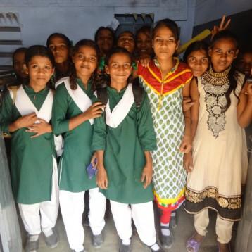 Girls at Itarsi